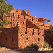 Tuzigoot Museum And Ruins Arizona Poster