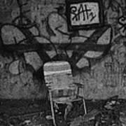 TV Lounge Fort Armistead Baltimore Maryland Poster