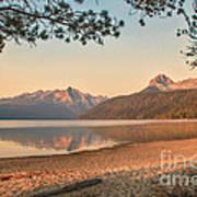 Twilight At Redfish Lake  Poster