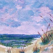 Twilight Beach Poster