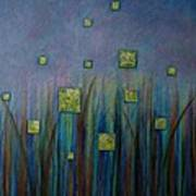Twilight N Fireflies Poster