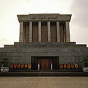 Twilit Ho Chi Minh Mausoleum Poster