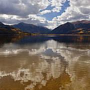 Twin Lake Colorado Poster