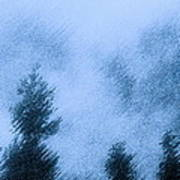 Twin Lakes Rain Poster