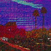 Twin Palms Purple Haze Poster