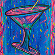 Twisted Martini Poster