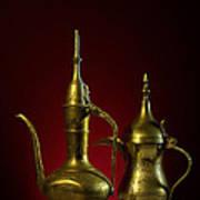 Two Arabic Coffee Pots Poster