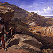 Two Bandits In The Hills, 1857 Poster