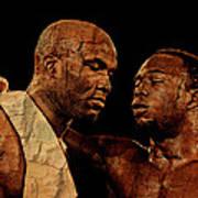 Two Boxers Poster by Lynda Payton