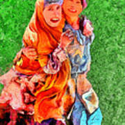 Two Girls Poster
