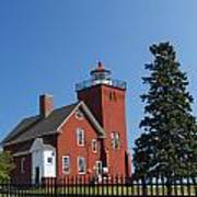 Two Harbors Mn Lighthouse 24 Poster