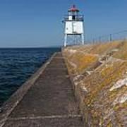 Two Harbors Mn Pier Light 11 Poster