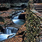 Two Kinds Of Steps Poster by Frozen in Time Fine Art Photography