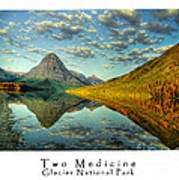Two Medicine Lake Sunrise Poster