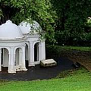 Two Meditating Cupolas In Fort Canning Park Singapore Poster