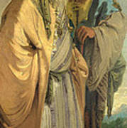 Two Men In Oriental Costume Poster