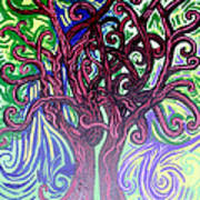 Two Trees Twining Poster
