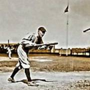 Ty Cobb Painting Poster