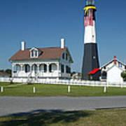 Tybee Island Lighthouse Ga Poster