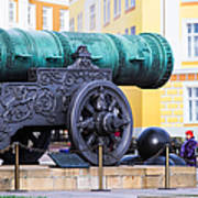Tzar Cannon Of Moscow Kremlin Poster