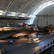 Udvar-hazy Center - Smithsonian National Air And Space Museum Annex - 12125 Poster by DC Photographer