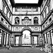 Uffizi Gallery In Florence Poster