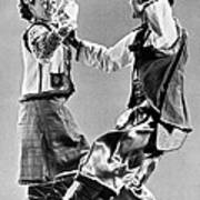 Ukrainian Folk Dancers Poster