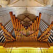 Ulm Pipe Organ Poster