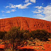 Uluru Central Australia Poster