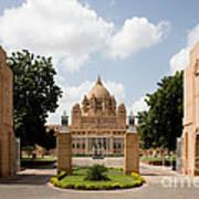 Umaid Bhawan Palace, India Poster