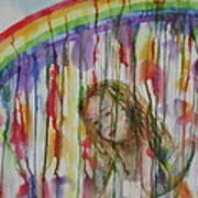 Under A Crying Rainbow Poster
