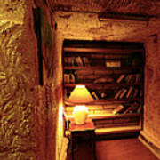 Under Ground Book Shelf Poster