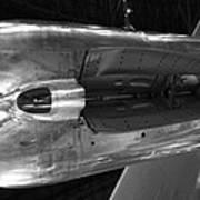 Under The Jet Engine Poster