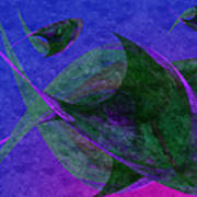 Under The Sea Painterly Poster