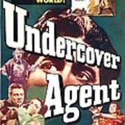 Undercover Agent, Aka Counterspy, Us Poster