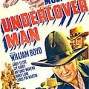 Undercover Man, Us Poster, Bottom Poster