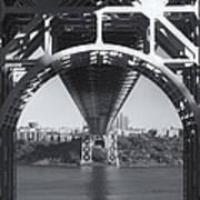 Underneath The George Washington Bridge Iv Poster
