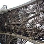 Underneath The Tour Eiffel Poster