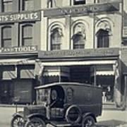 Underwood Typewriter Factory Poster