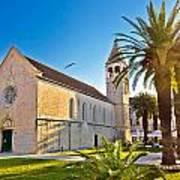 Unesco Town Of Trogir Church View Poster