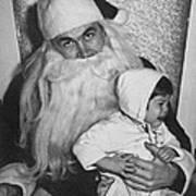 Unhappy Santa Claus Poster