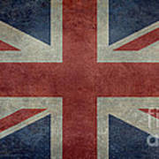 Union Jack 1 By 2 Version Poster
