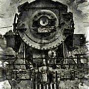 Union Pacific Locomotive 6051 Poster