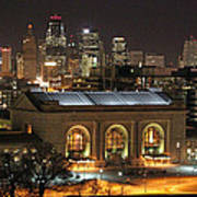 Union Station At Night Poster