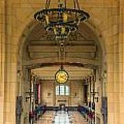 Union Station Chandelier Poster