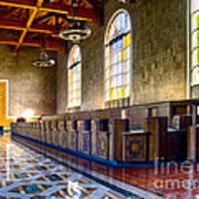 Union Station Interior- Los Angeles 2 Poster