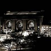 Union Station Sepia Poster