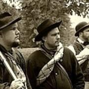 Union Troops Awaiting Orders - Brandenburg Ky Poster