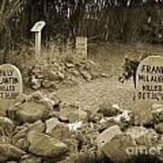 Unique Cemetery Image Poster