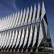 United States Air Force Academy Cadet Chapel Poster